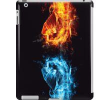 Fire water fist iPad Case/Skin