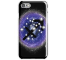 Sagittarius Zodiac Sign Stars Constellation  iPhone Case/Skin
