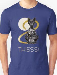 Hocus Pocus Cat Spell - Just. Like. This! Unisex T-Shirt