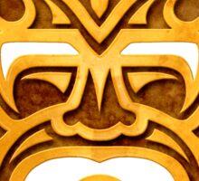 Stylish Stone Mayan Mask Sticker