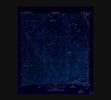 USGS TOPO Map Hawaii HI Kaohe 349864 1927 62500 Inverted Unisex T-Shirt
