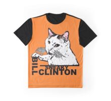 """Bill """"Sneaky"""" Clinton Graphic T-Shirt"""