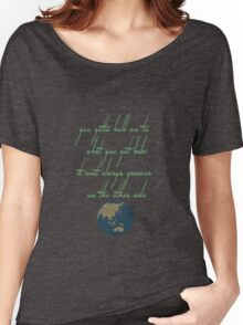 Greener on the Other side Women's Relaxed Fit T-Shirt