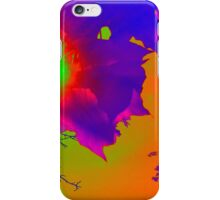 Psychedelic Sun Rays iPhone Case/Skin