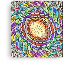 My Hippy Heart Canvas Print
