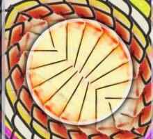 My Hippy Heart Sticker