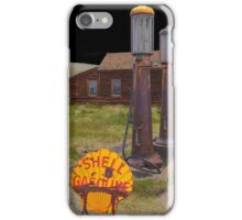 Old Gas pumps iPhone Case/Skin