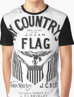 My Country's Flag Graphic T-Shirt