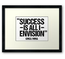 Conor McGregor - [Success] Framed Print