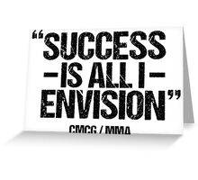 Conor McGregor - [Success] Greeting Card