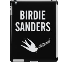Birdie Sanders Funny Political Design with Dove iPad Case/Skin