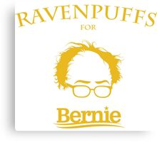 Ravenpuffs for Bernie! Canvas Print