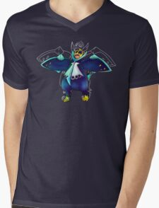 Water Penguin Mens V-Neck T-Shirt