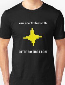 UNDERTALE - DETERMINATION T-SHIRT (SAVE POINT) Unisex T-Shirt