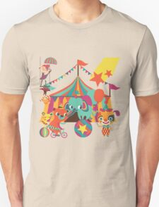 The Circus is in Town Unisex T-Shirt