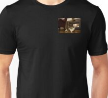 Teddy our Kitty Cat fetches and walks on a leash outdoors Best Cat Ever Unisex T-Shirt