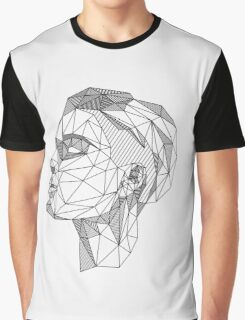 Halsey Low-Poly Illustration Graphic T-Shirt