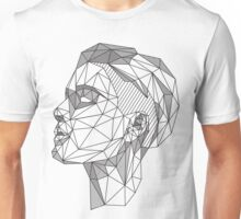 Halsey Low-Poly Illustration Unisex T-Shirt