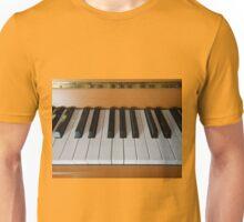 Section of Yamaha Piano Keyboard Unisex T-Shirt