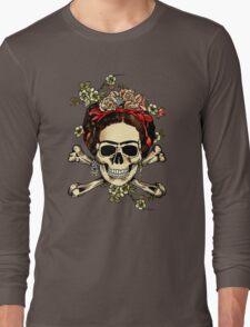 Masterpiece Skull Frida Long Sleeve T-Shirt