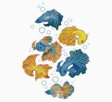 Beta Fish Kids Tee