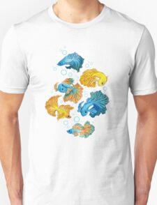 Beta Fish Unisex T-Shirt