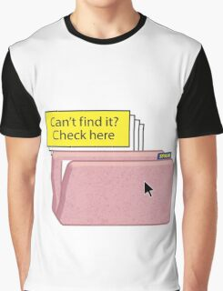 SPAM FOLDER - Can't find it? Check here! Graphic T-Shirt