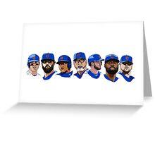 2016 Cubs Greeting Card