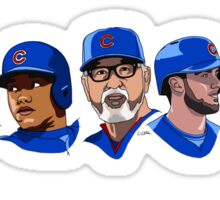 2016 Cubs Sticker