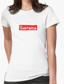 Fake ass Supreme Womens Fitted T-Shirt