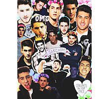 Cody Christian Collage Photographic Print