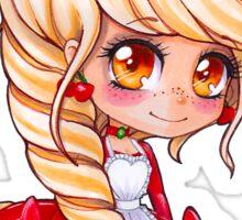'Rev' Red Velvet - My Original Character - Chibi 2 Sticker