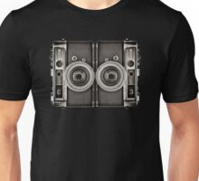 Double YASHICA_B&W Unisex T-Shirt