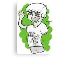 High Five Ghost Canvas Print