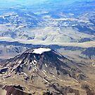 Aerial of Volcano in Chile by Graeme  Hyde