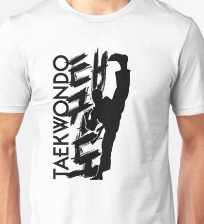 Taekwondo Kick Boy - Korean Martial Art Unisex T-Shirt