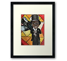 Lil Sammy: The Candy Kid Framed Print