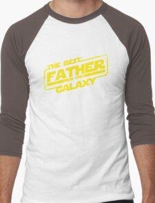 The Best Father in the Galaxy (ORIGINAL ARTIST!) Men's Baseball ¾ T-Shirt