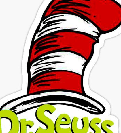 Dr Seuss Sticker