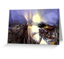 Abstract composition 114 Greeting Card