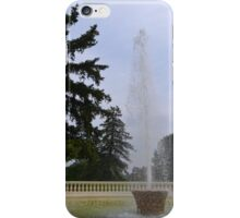Spouting Water iPhone Case/Skin