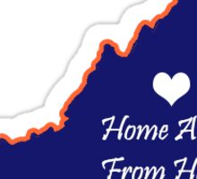 UVA Home away from Home Sticker
