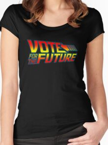 Vote for the Future  Women's Fitted Scoop T-Shirt