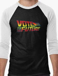 Vote for the Future  Men's Baseball ¾ T-Shirt