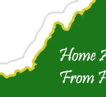 George Mason Home away from Home Sticker