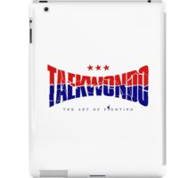 Taekwondo Chest Logo Cool - Korean Martial Art iPad Case/Skin