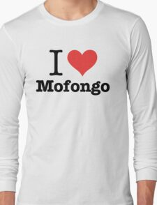 I Love Mofongo Long Sleeve T-Shirt
