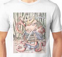 Samurai Octopus Unisex T-Shirt