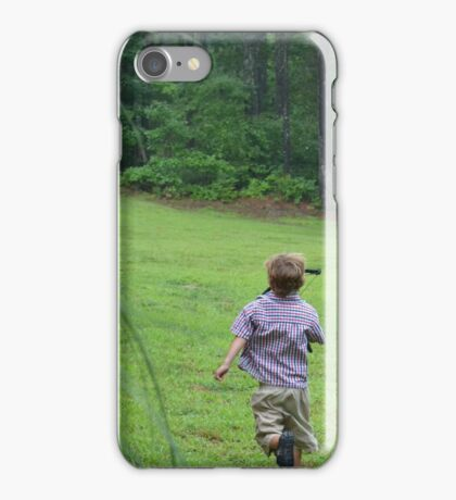 Forever a Kid iPhone Case/Skin