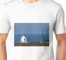 The Monkey Hut on Portreath Pier Unisex T-Shirt